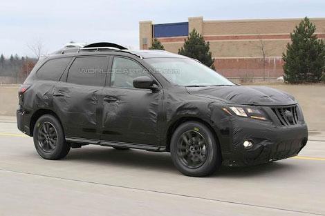 Nissan показал будущую модель нового Pathfinder 7832d4e48011c6879e689ef46569bc1e